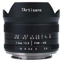 Für weitere Info hier klicken. Artikel: 7Artisans 7,5mm f/2,8 II Fisheye Fujifilm X