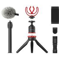 Für weitere Info hier klicken. Artikel: Boya BY-VG330 Vlogging Kit mit BY-MM1 + Smartphone Halterung