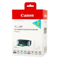 Für weitere Info hier klicken. Artikel: Canon CLI-42 Multipack BK/C/M/Y/PM/PC/GY/LGY für Pixma Pro-100s