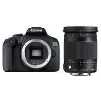 Für weitere Info hier klicken. Artikel: Canon EOS 2000D + Sigma AF 18-300mm Makro OS HSM C Canon EF-S