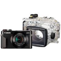 Für weitere Info hier klicken. Artikel: Canon PowerShot G7X Mark II + Unterwassergehäuse WP-DC 55 - Unterwasserset -