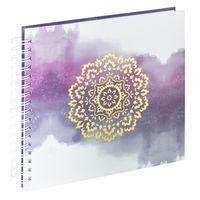 Für weitere Info hier klicken. Artikel: Hama Spiral-Album Golden Watercolor, 28x24 cm, 50 weiße Seiten