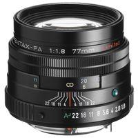 Für weitere Info hier klicken. Artikel: Pentax SMC FA 77mm f/1,8 Limited Pentax K Vollformat schwarz