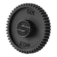 Für weitere Info hier klicken. Artikel: Sachtler Ace Drive gear, 50t, 0.8 module