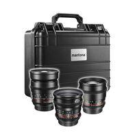 Für weitere Info hier klicken. Artikel: Walimex pro Video Standard Set 3x Canon EF