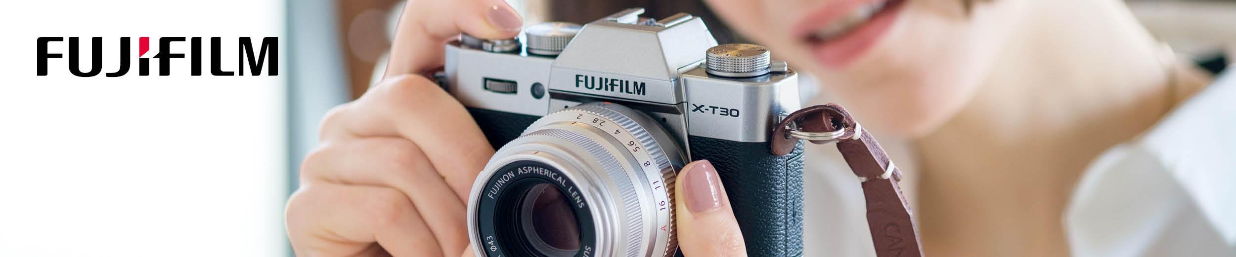 Fujifilm Markenstore Header