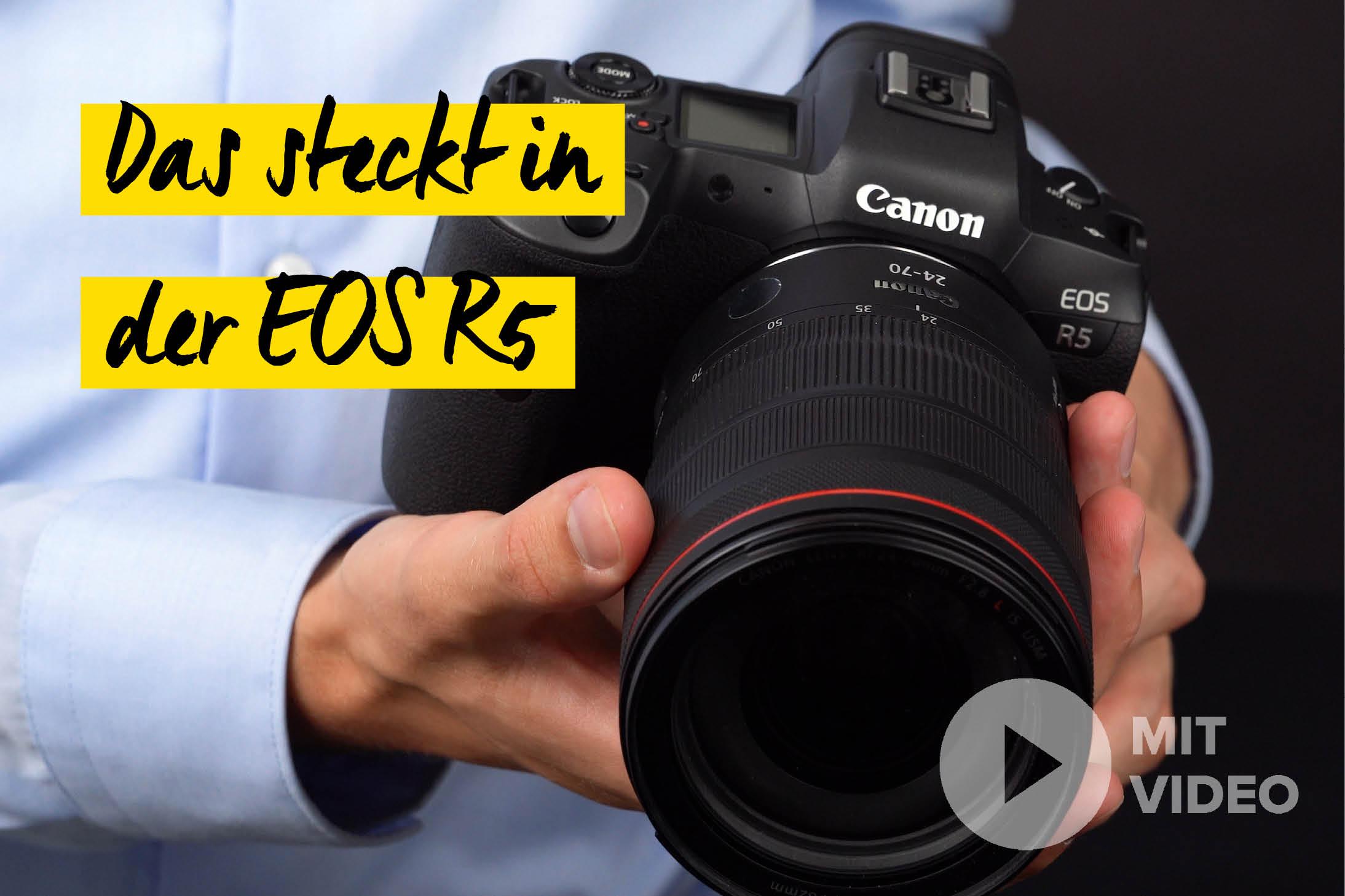 Canon EOS R5 mit RF Objektiv