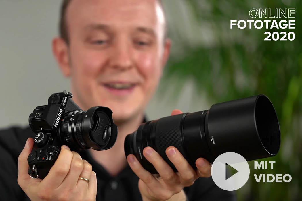 Neuheiten: Fujifilm X-S10 und Objektive