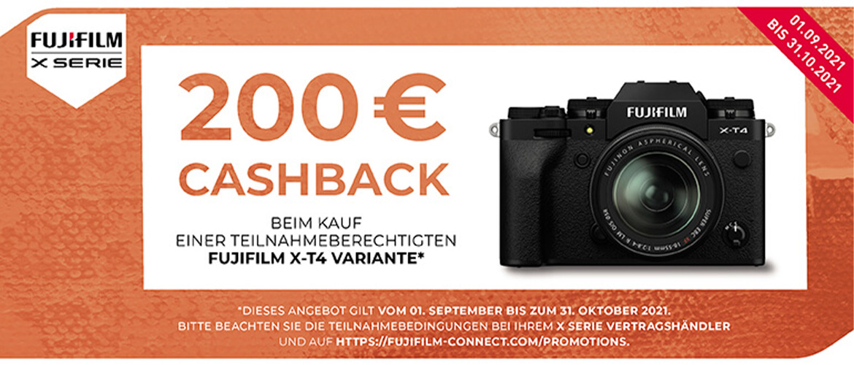Fujifilm Cashback