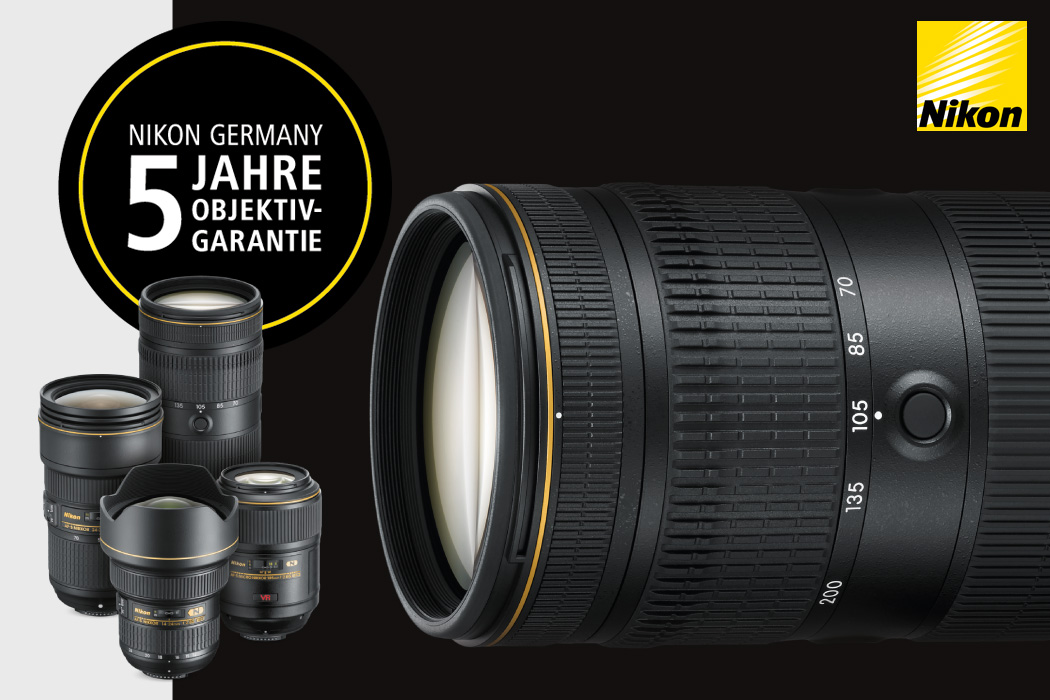 Nikon Objektiv Garantie