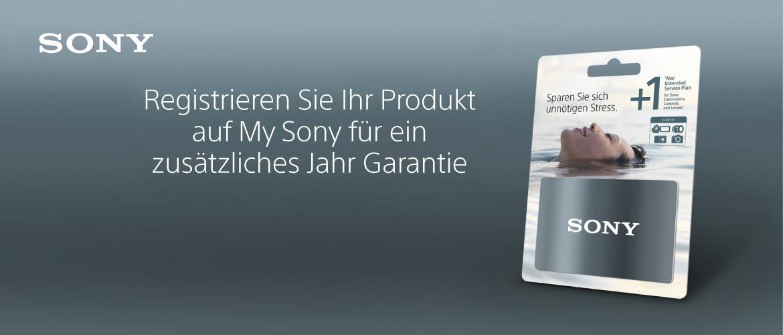 Sony Garantie
